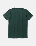 Norse Projects Niels Standard T-Shirt - Bottle Green