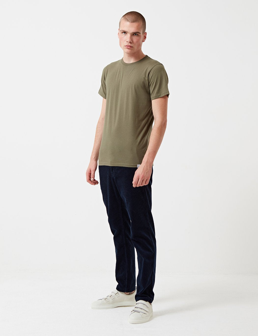 Norse Projects Niels Standard T-Shirt - Lichen Green