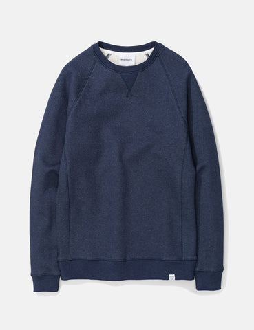 Norse Projects Ketel Classic Crew Sweatshirt - Dark Navy