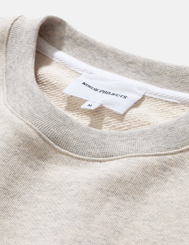 Norse Projects Vagn Classic Sweatshirt - Oatmeal Melange