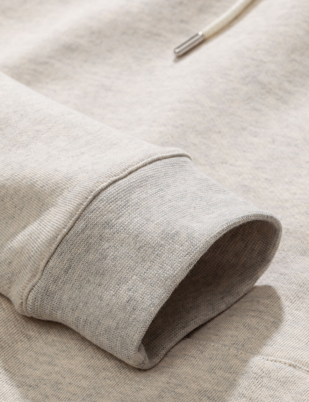 Norse Projects Vagn Classic Hooded Sweatshirt - Oatmeal Melange