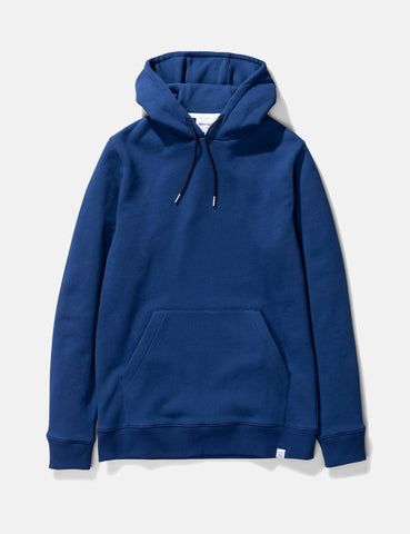 Norse Projects Vagn Classic Hooded Sweatshirt - Twilight Blue