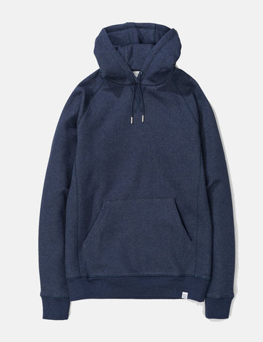 Norse Projects Ketel Classic Hooded Sweatshirt - Dark Navy