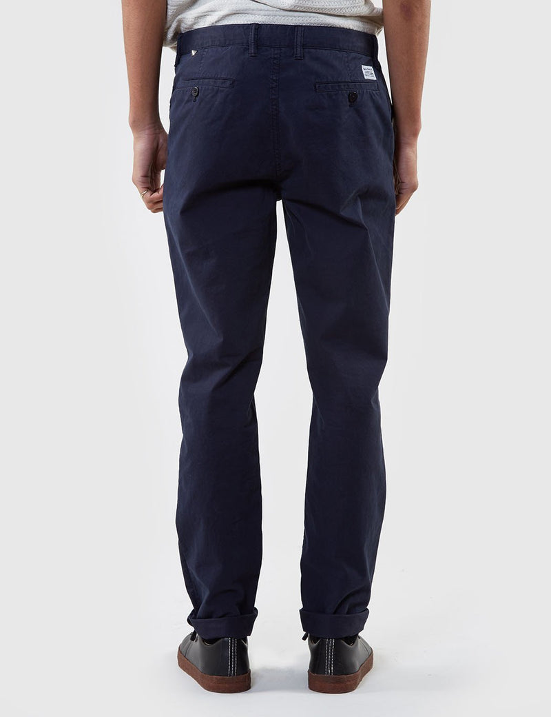 Norse Projects Aros Light Twill Chino (Slim) - Dark Navy