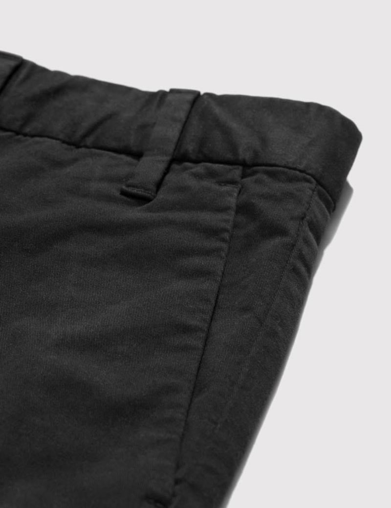 Norse Projects Aros Light Stretch Chino (Slim) - Black