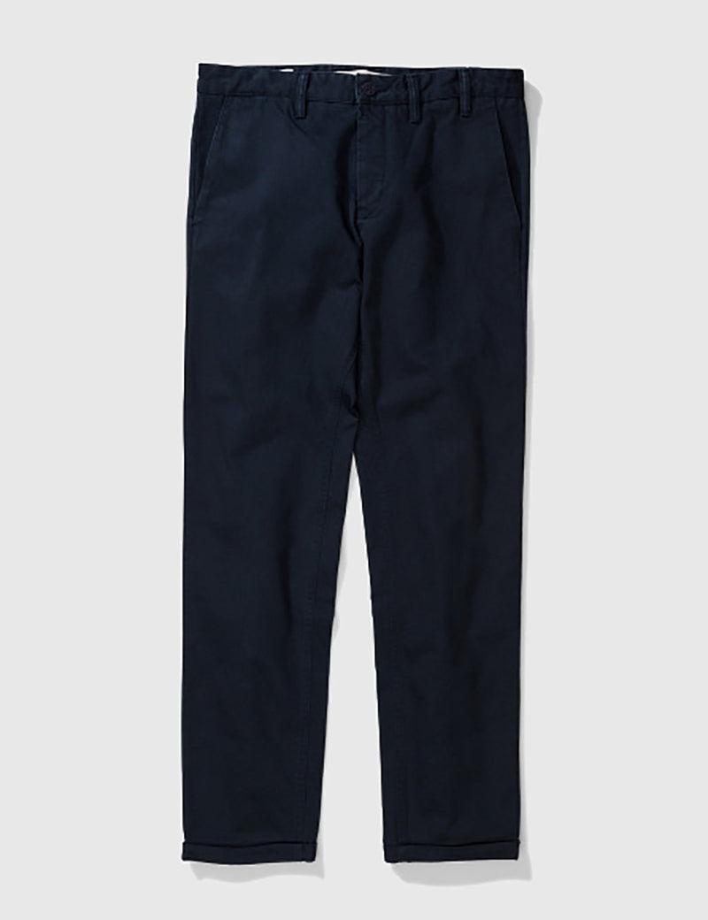 Norse Projects Aros Heavy Chino (Regular) - Navy Blue