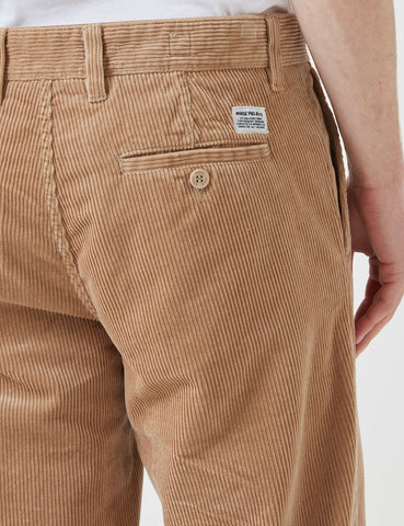 Norse Projects Aros Trousers (Corduroy) - Tan