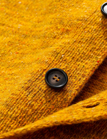 Norse Projects Adam Cardigan Neps - Montpellier Yellow