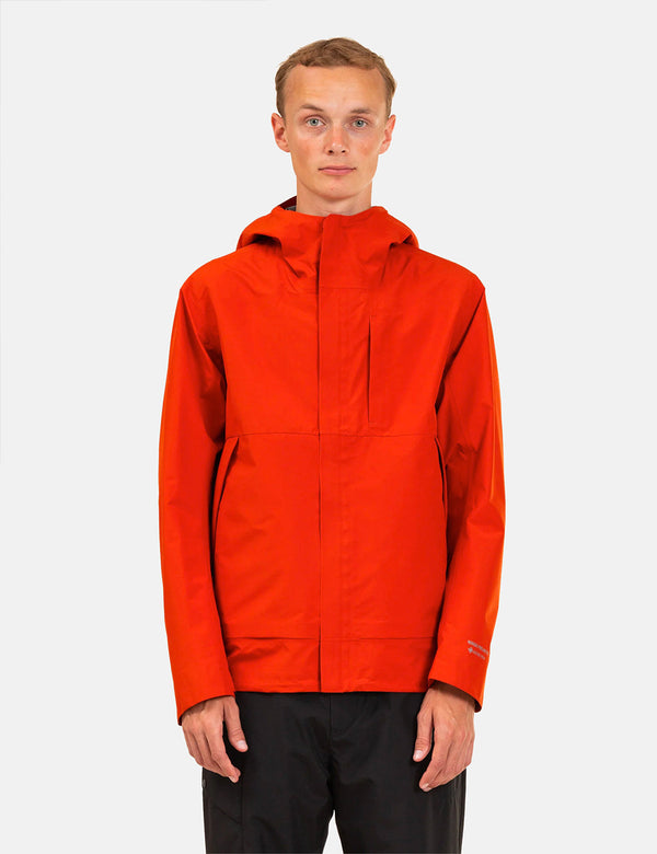 Norse Projects Fyn Shell Gore Tex 3.0 - Industrial Orange