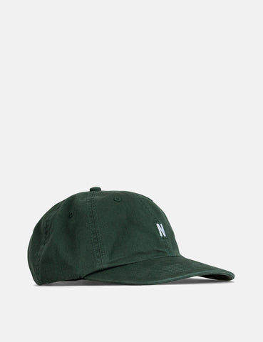 Norse Projects Twill Sports Cap - Bottle Green