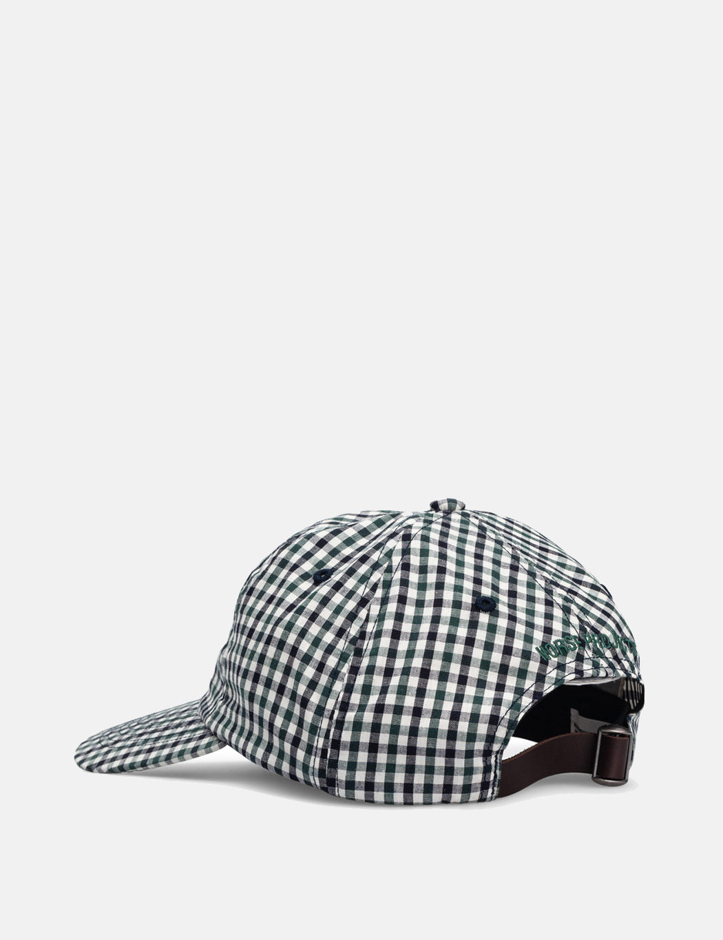 07b66c91c6 Norse Projects Gingham Sports Cap - Dark Navy Blue | URBAN EXCESS ...