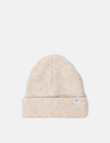 Norse Projects Norse Beanie Hat - Ecru