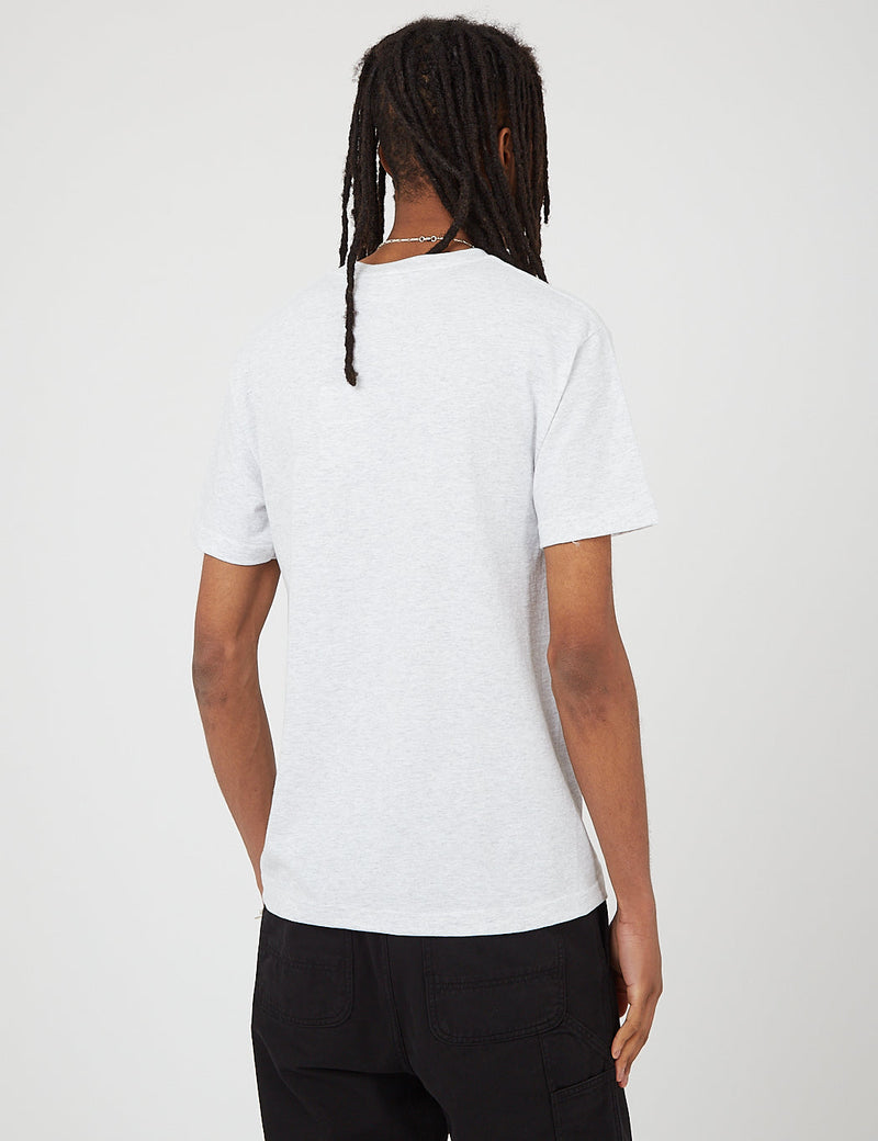 Parlez Topper T-Shirt - Heather Grey