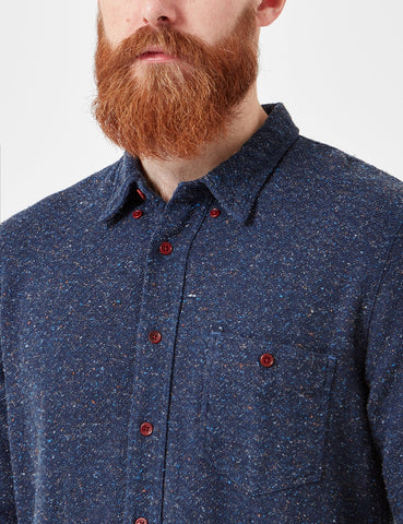 Human Scales Jeffrey Delav̩ Shirt - Blue