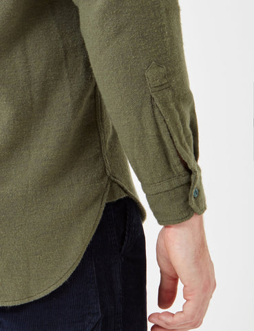 Human Scales Sten Shirt - Green