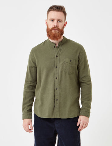 Human Scales Orvar Shirt - Green