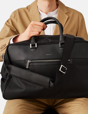 Sandqvist Mattias Weekend Bag - Black/Black