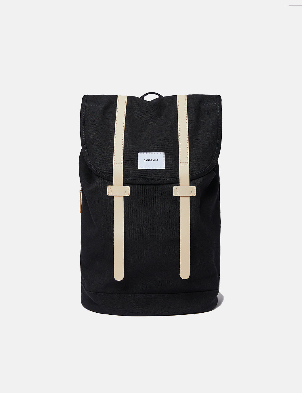 Sandqvist Stig Backpack (Large) - Black/Beige