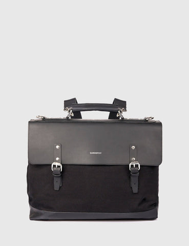 Sandqvist Jones Doctors Bag (Canvas) - Black