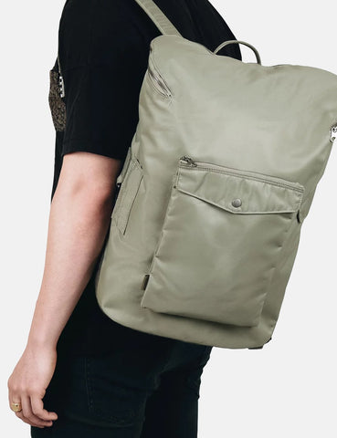 Sandqvist Uno Backpack (Nylon) - Willow Green