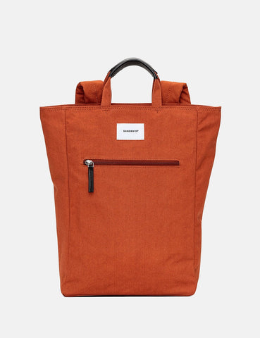 Sandqvist Tony Tote Bag (Canvas) - Rust Red