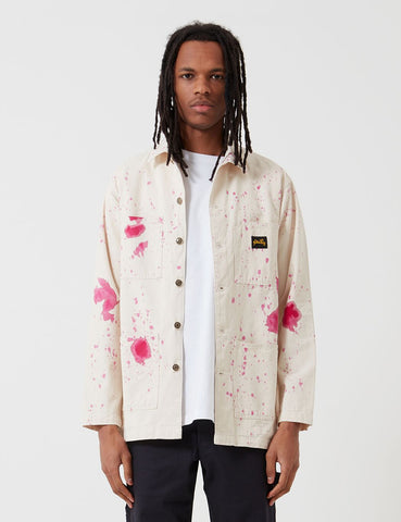Stan Ray Shop Jacket (Paint Splatter) - Natural