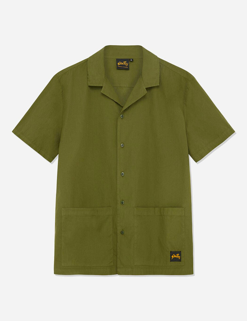 Stan Ray Bowling Shirt - Olive Green