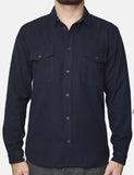 Suit Denmark Joe Overshirt - Navy Blue