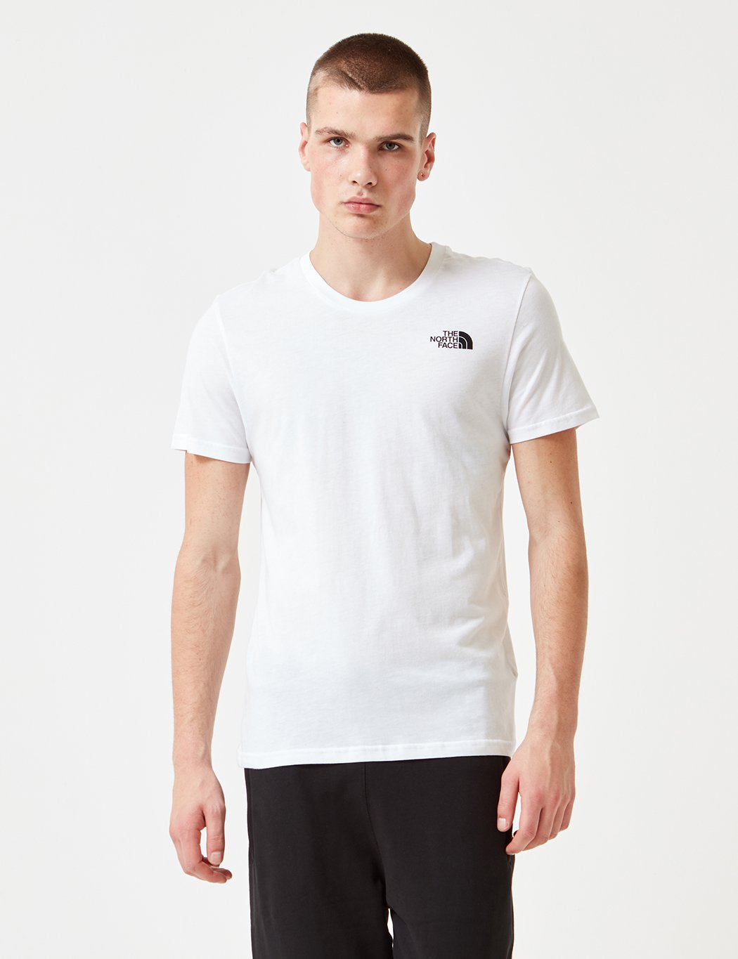 North Face Simple Dome T-Shirt - White