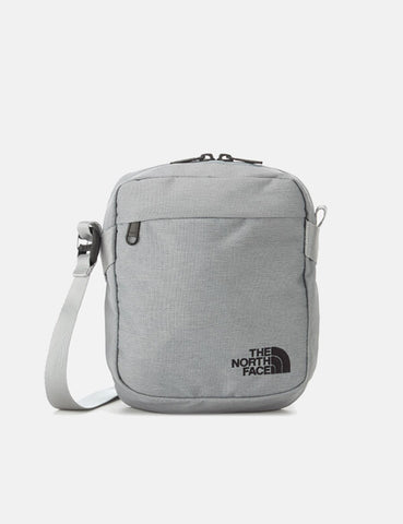 North Face Convertible Shoulder Bag - Mid Dark Grey Heather/Black