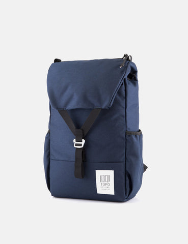 Topo Designs Y-Pack Rucksack - Navy Blue