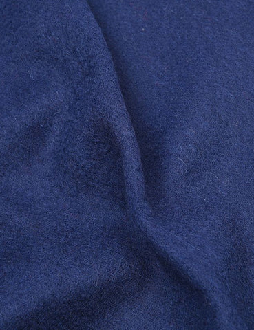 Barbour Plain Lambswool Scarf - Navy Blue