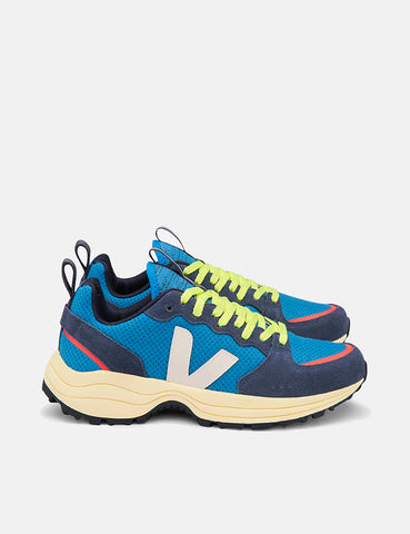 Veja Venturi Hexamesh Trainers - Swedish Blue/Butter Sole