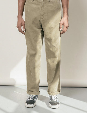 Satta Cord Pants - Taupe Brown