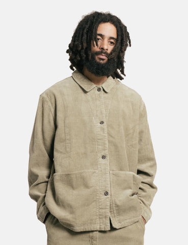 Satta Allotment Jacket (Corduroy) - Taupe Brown