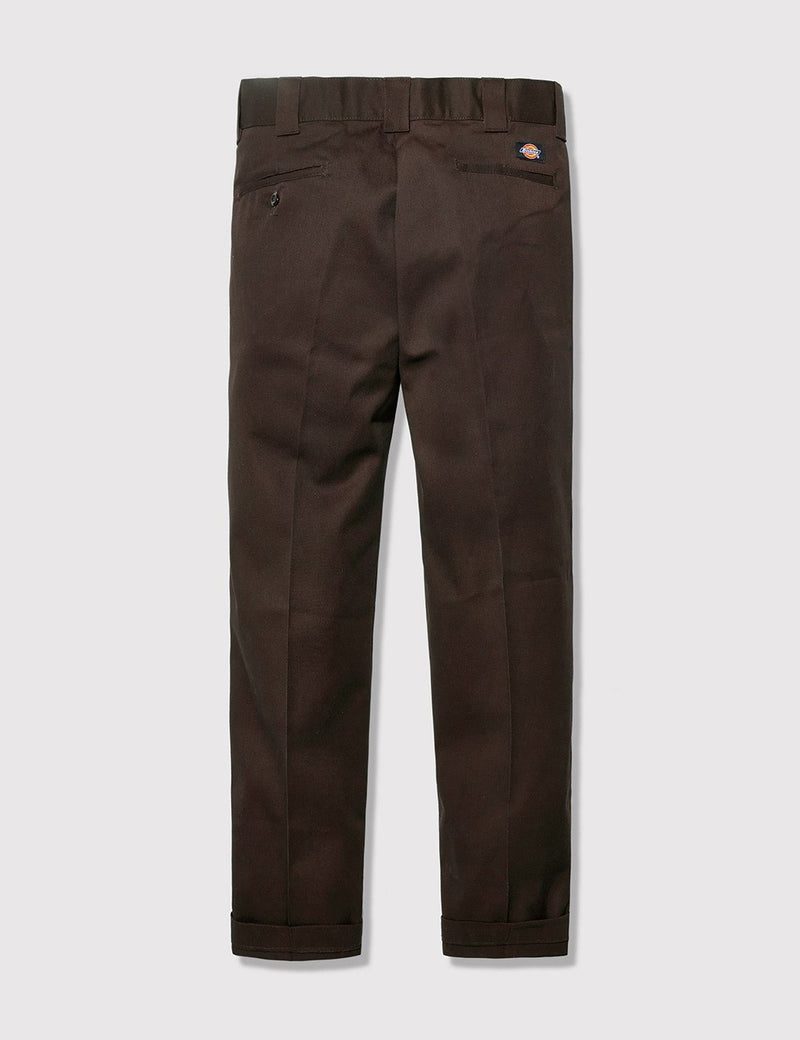 Dickies 873 Work Pant (Slim Straight) - Brown