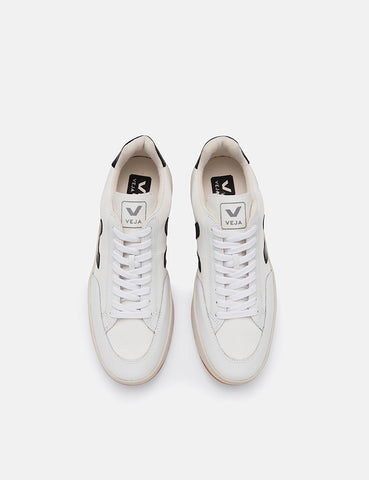 Veja V-12 B-Mesh Trainers - White/Black/Extra White
