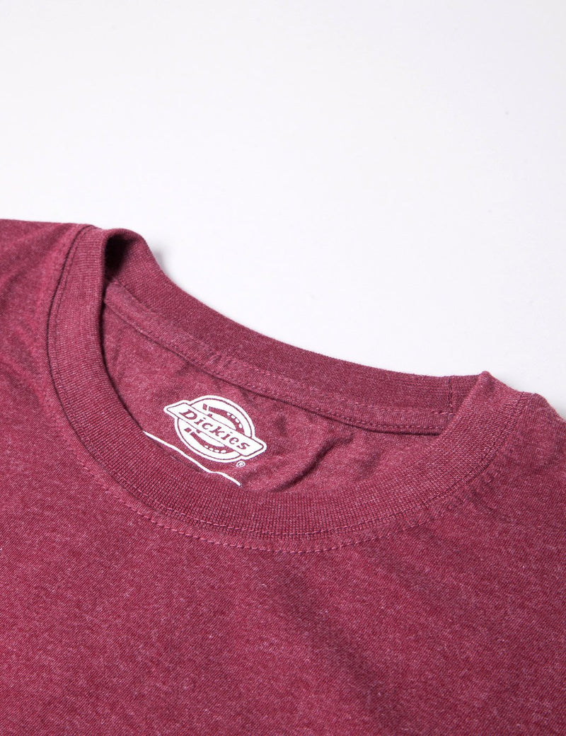 Dickies Hastings T-shirt - Heather Burgundy
