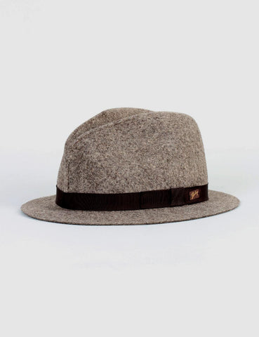 Bailey Dean Unstructured Fedora - Dark Brown