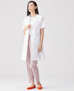 Women's Lab Coat: Short-Sleeve Coat Cool Tech