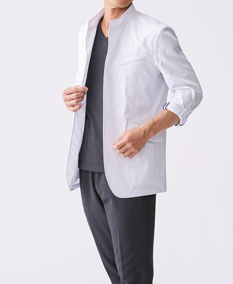 Classico Men`s Casey Jacket White Medical > Lab coats > White Coat > Mens- Classico