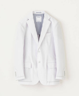 Classico Men's Crafted Lab Jacket White