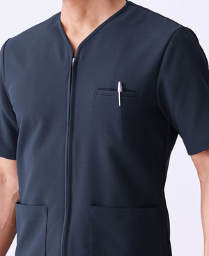Classico Men`s Urban Zip Scrub Tops Medical > Scrubs > Zip Scrub Tops > Men`s- Classico