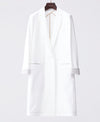 Classico Women's JERSEY LAB COAT LUXE White Medical > Lab coats > White Coat > JERSEY LAB COAT > Womens- Classico