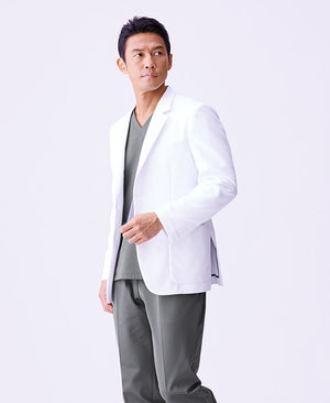 Classico Men`s Urban Jacket White Medical > Lab coats > White Coat > Urban Jacket > Men`s- Classico