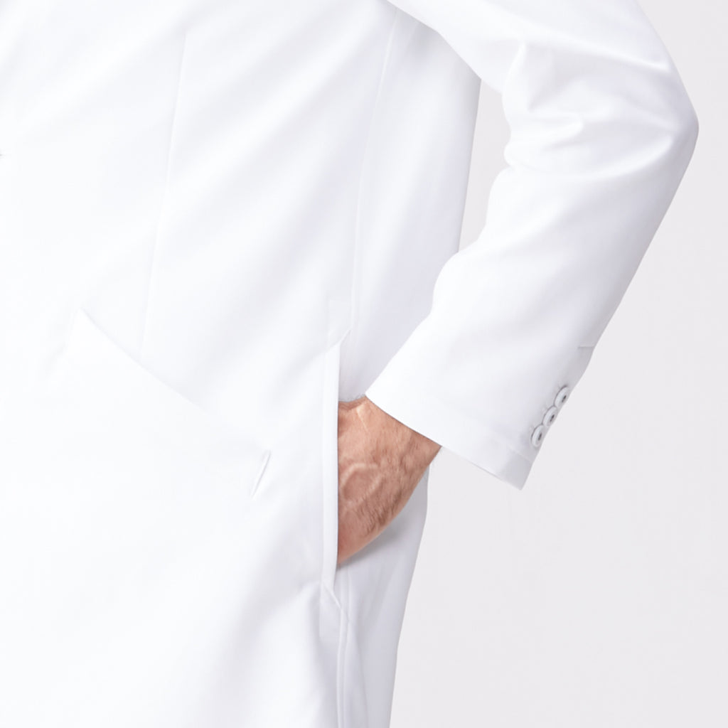 Classico Men`s Urban Lab Coat White Medical > Lab coats > White Coat > Urban lab Coat > Mens- Classico