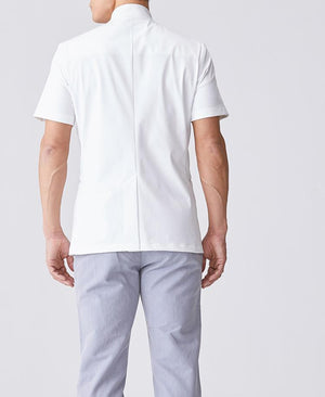 Men's Lab Coat: Urban Double Casey Men's Lab Coat- Classico