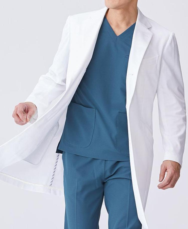 Men's Lab Coat: Classico Tailored Coat Cool Tech Men's Lab Coat- Classico