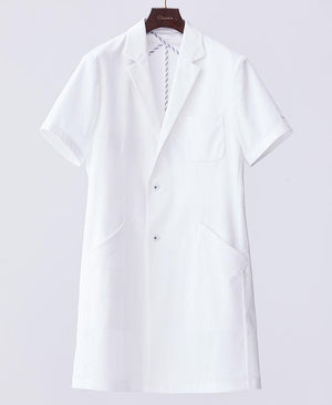 Men's Lab Coat: Short-Sleeve Coat Cool Tech Men's Lab Coat- Classico