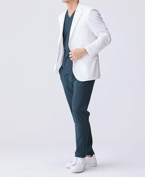 Men's Lab Coat: Tailored Jacket Cool Tech Men's Lab Coat- Classico